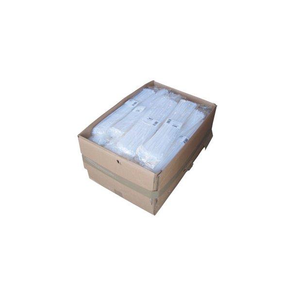 Kabelbinder tilbud. Kasse 2 - Hvide