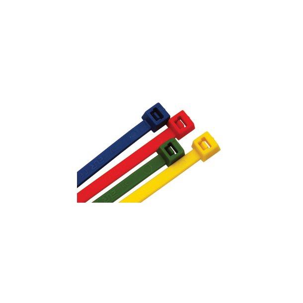 Kabelbindere - 2,5 x 98 mm - Gul - 100 stk
