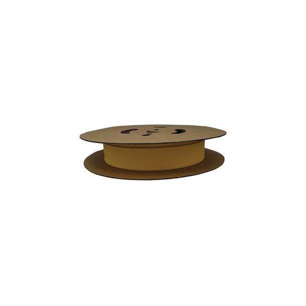 Krympeflex rl. NSXG 9,5/4,8 - 2:1 u. lim - Gul - 75 mtr