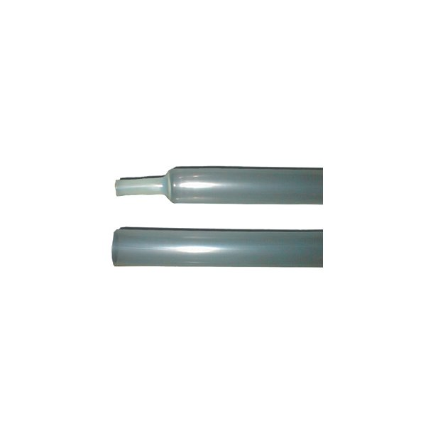Krymperør - NSAT 50/19 Transparent 3:1 m. lim - 1,22 mtr