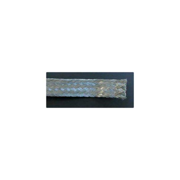 Kobberbånd, flettet 2,5 mm² - 100 mtr