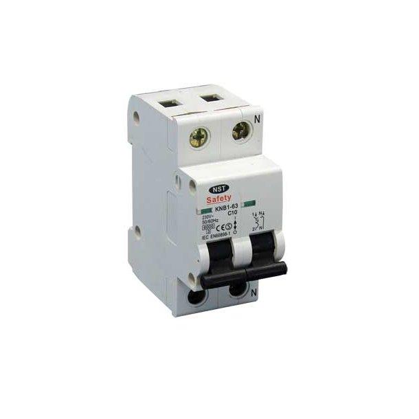 Safety C-automat  1P+N  6kA/C 16A