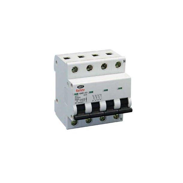 Safety C-automat  3P+N  6kA/C 63A