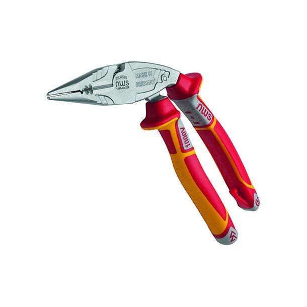 Spidstang vinklet ergonomisk VDE 200mm