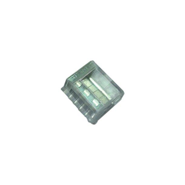 Skrueløs samlemuffe 5x1.5-2,5mm² transparent  100 stk.