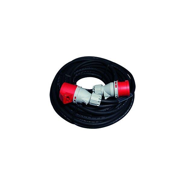Forlænger kabel 25 mtr - 5G2,5 mm² - 5P/16A/400V