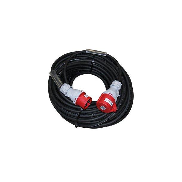 Forlænger kabel 50 mtr - 5G1,5 mm² - 5P/16A/400V