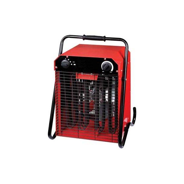 Varmeblæser - 9 kW m/CEE 16A/400V5P/6h indtag