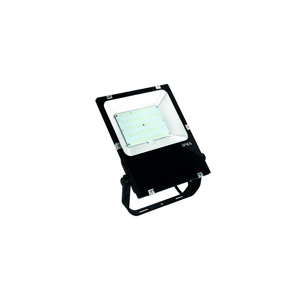 Projektør - 80W LED - Alu - 230V/5700K- IP65 - SLIMLINE