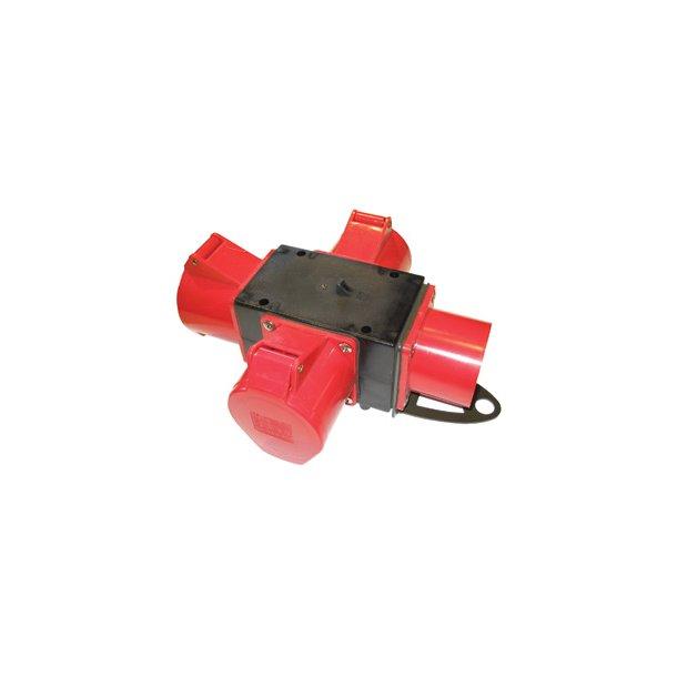 Kompaktforgrener - Type F: 5P/32A/400V udg: 3 x 5P/32A/400