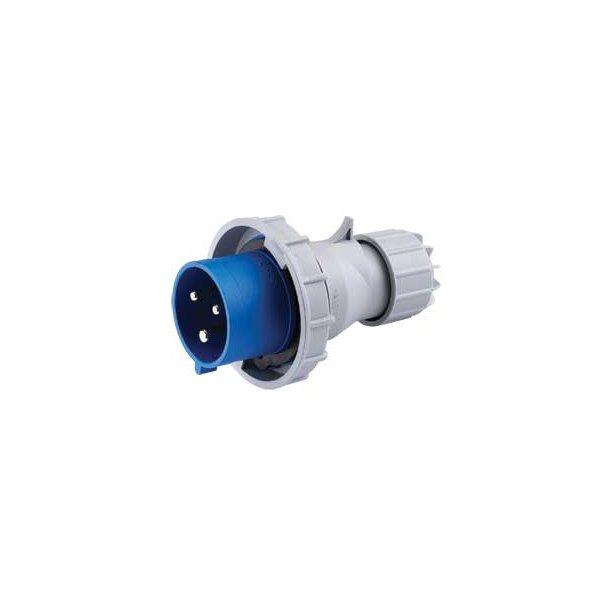 CEE stikprop  IP67  -  2P+J 230V/16A