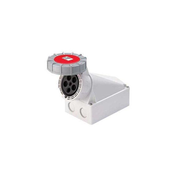 CEE vægudtag  IP67  - 3P+N+J  400V/125A