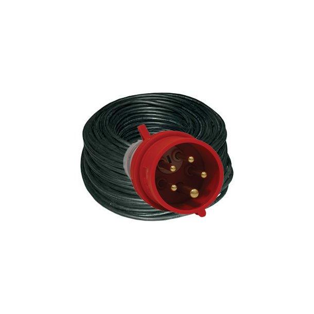 Forlænger kabel m. fasevender - 25 mtr/5G2,5 mm² - 5P/16A/