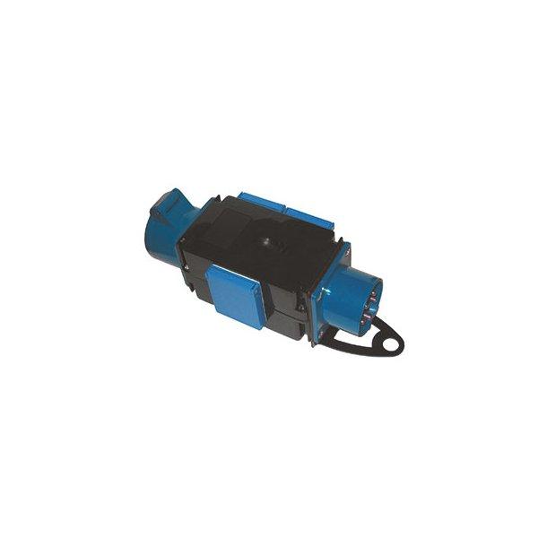 Kompaktforgrener - Type H  ind: 3P/16A/230V ud: 3 x DK230V