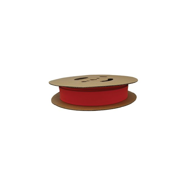 Krympeflex rl. NSXR 19,1/9,5 - 2:1 u. lim - Rød - 30 mtr