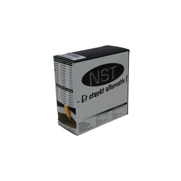 Krympeflex æske. NSXG 4,8/2,4  - u. lim - Gul - 9 mtr