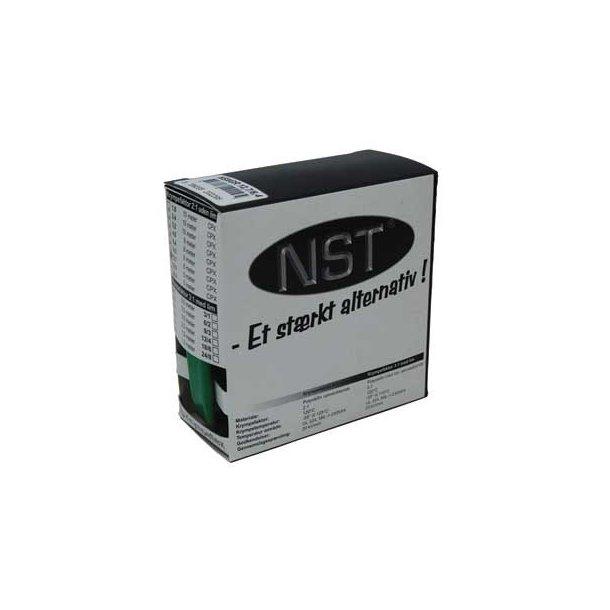 Krympeflex æske. NSXGR 19,1/9,5 - u. lim - Grøn - 5 mtr